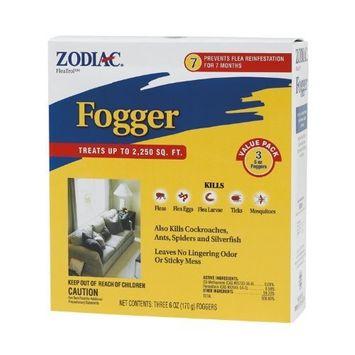 Farnam Zodiac Pest Fogger, 6-ounce, Pack of 3