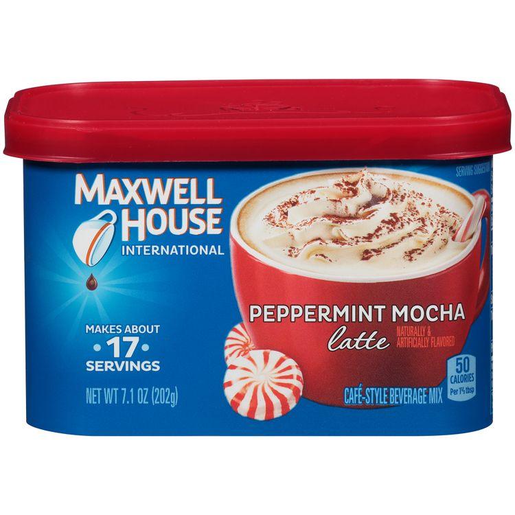 Maxwell House International Peppermint Mocha Latte