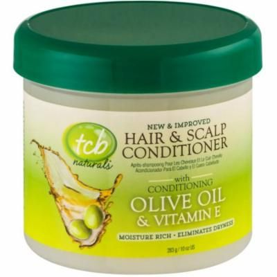 TCB Naturals Hair & Scalp Conditioner With Olive Oil & Vitamin E 10 oz