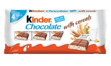 Kinder® Chocolate With Cereals