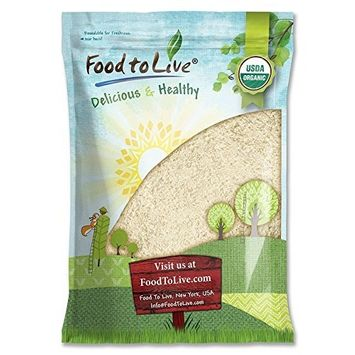 Food to Live Organic Millet Flour (Non-GMO, Stone Ground, Unbleached, Unbromated, Raw, Vegan, Bulk, Product of the USA) — 16 Pounds