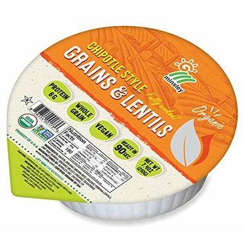 Minsley Organic Chipotle Grains & Lentils, 7.4 oz (Pack of 12)