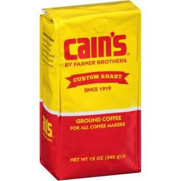 Cain's by Farmer Brothers Custom Roast Ground Coffee, 12 oz