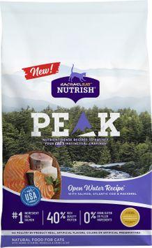 Rachael Ray™ Nutrish® PEAK™ Ultra-Premium Food for Cats Open Water Recipe™ with Salmon, Atlantic Cod & Mackerel