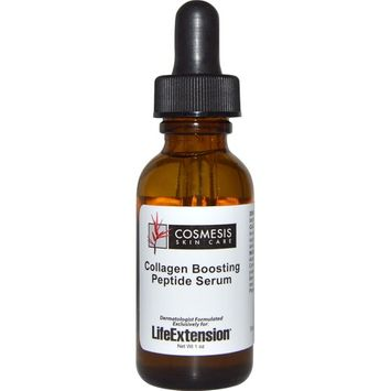Life Extension Cosmesis Skin Care Collagen Boosting Peptide Serum -- 1 oz