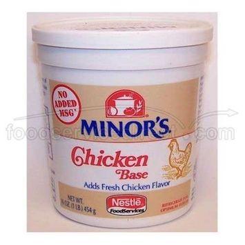 Nestle Minors No Added MSG Chicken Base, 1 Pound -- 6 per case.