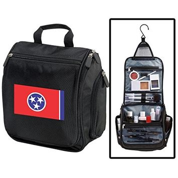 Tennessee Toiletry Bags Or Hanging Tennessee Flag Shaving Kits