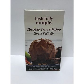 Tastefully Simple Chocolate Peanut Butter Cheese Ball Mix