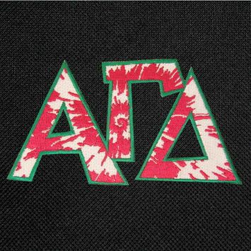 Alpha Gamma Toiletry Bag or Alpha Gamma Sorority Travel Cosmetic BAG