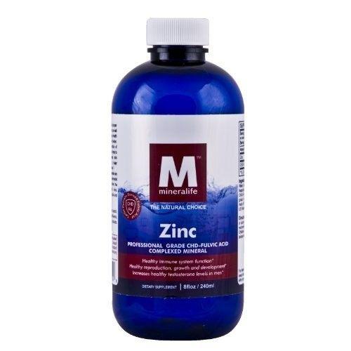Mineralife Liquid Ionic Zinc (8 Oz - 96 Day Supply)