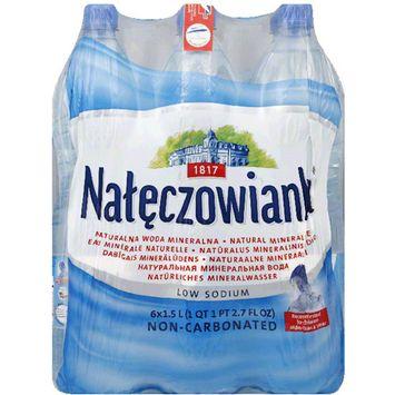 Naleczowianka Natural Mineral Water, 50.7 fl oz, 6 pack