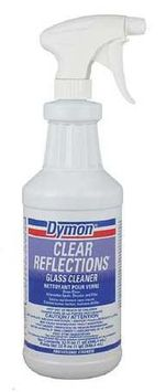 ITW DYMON 38532 Glass Cleaner, 32 oz, Light Blue, PK12