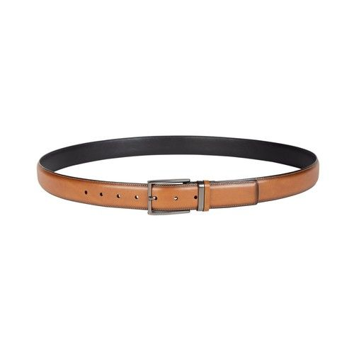 Men's Big & Tall Feather-Edge Dress Belt, Created for Macy's