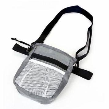 Oie Loves Dog Treat Training Pouch Dog Oxford Snack Bag With Waist Belt Shoulder Strap