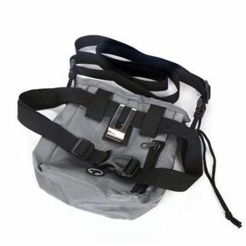 Dog Treat Training Pouch Dog Oxford Snack Bag With Waist Belt Shoulder Strap