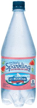 Ice Mountain® Sparkling Watermelon Lime Natural Spring Water
