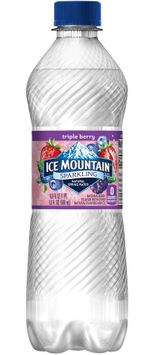 Ice Mountain Sparkling Natural Spring Water Triple Berry