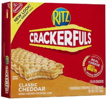 RITZ Crackerfuls Classic Cheddar