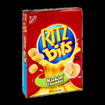 RITZ Kickin' Cheddar Cracker Sandwiches