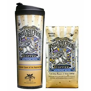 Whole Bean Coffee with Matching Tumbler, Bundle (Resurrection Blend)