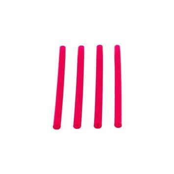 Waddington North America Fat Red Straws, 6