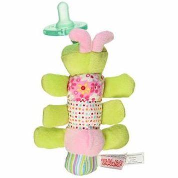 Mary Meyer Wubbanub Plush Pacifier, Cutsie Caterpillar