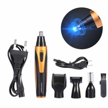 4 In 1 Rechargeable Men Hair Trimmer Shaver Set Clipper Grooming Kit