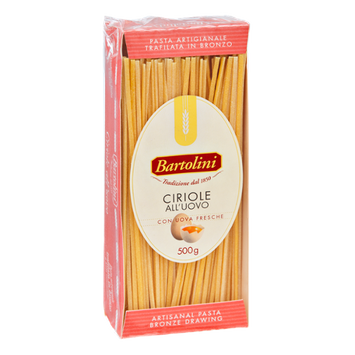Bartolini Ciriole All'Uovo Artisanal Pasta - 17.6 OZ