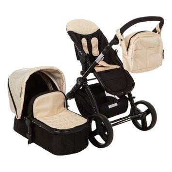Elle Baby, Inc. Elle Baby Deluxe Stroller System - Ivory
