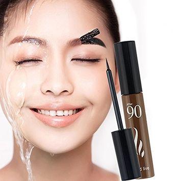Molie Eyebrow Tint Gel Peel Off Tattoo Brow Color Natural Beauty Waterproof Long Lasting
