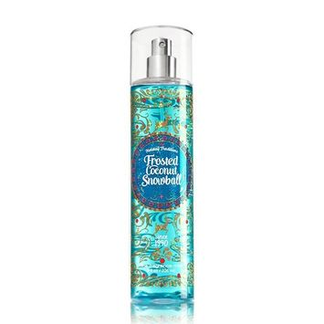 FROSTED COCONUT SNOWBALL Bath & Body Works Fine Fragrance Mist with Clear Cap - Single