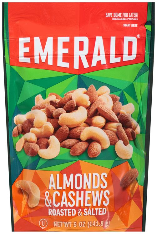 emerald® roasted & salted almonds & cashews