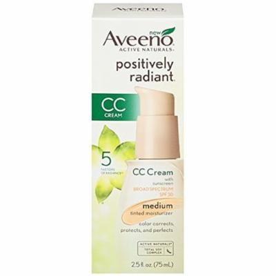 AVEENO Active Naturals Positively Radiant Tinted Moisturizer Medium 2.50 oz