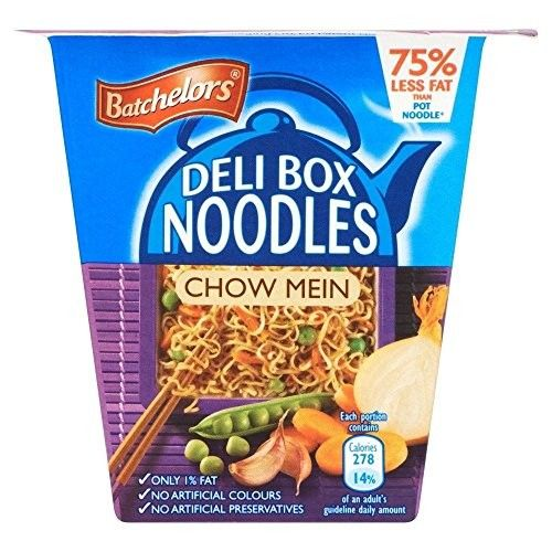 Batchelors Deli Box Noodles Chow Mein (75g) - Pack of 2