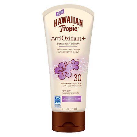 Hawaiian Tropic® Anti Oxidant + Sunscreen Lotion SPF 30