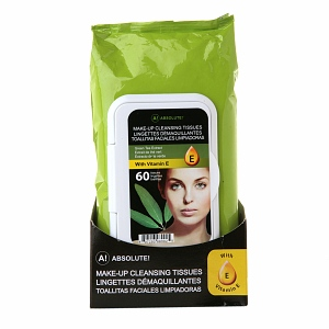 A! Absolute! Makeup Cleansing Tissues