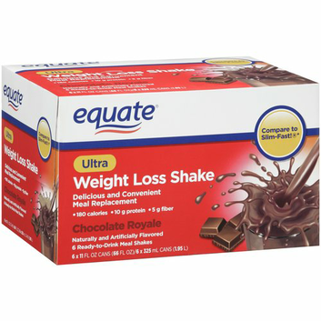 Equate Chocolate Royale Ultra Weight Loss Shakes Reviews 2020