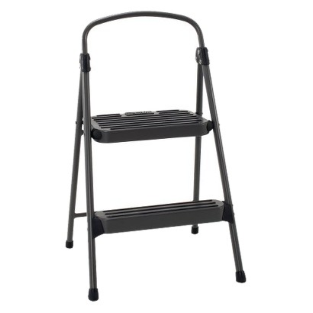 Cosco Step Stool:  2 Step All Steel Step Stool