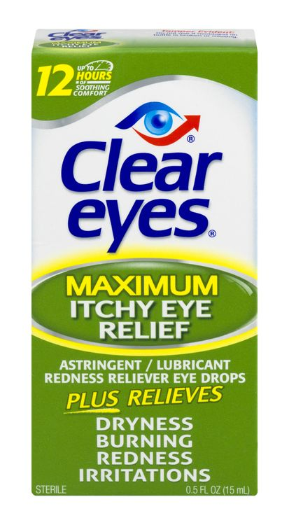Clear Eyes Maximum Itchy Eye Relief (0.5oz)