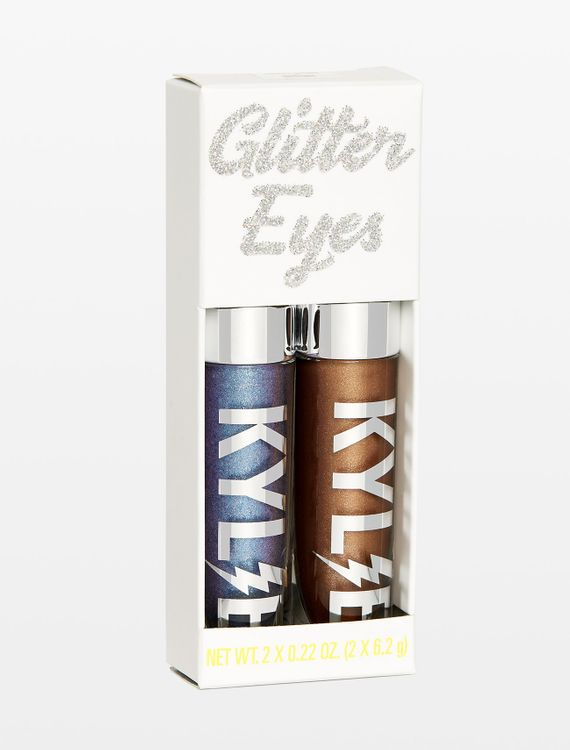 Kylie Cosmetics Violet Moon + Destiny Glitter Eyes Set