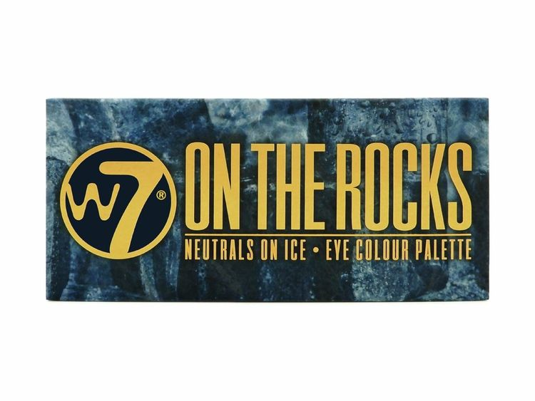 W7® On The Rocks Neutrals On Ice Eye Colour Palette