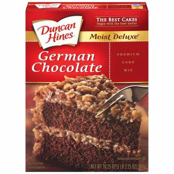 Duncan Hines Moist Deluxe German Chocolate Cake Mix
