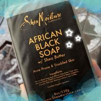 SheaMoisture African Black Soap Acne Prone Face & Body Bar uploaded by Diana B.