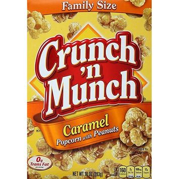 Crunch 'n Munch Caramel Popcorn With Peanuts [name: number_of_pieces value: number_of_pieces-14]
