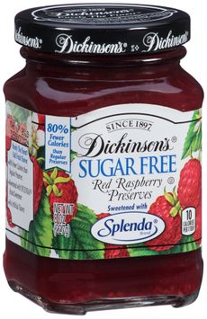 Dickinson's® Sugar Free Red Raspberry Preserves