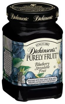 Dickinson's Purely Blueberry Spreadable Fruit