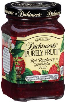 Dickinson's® Purely Fruit® Red Raspberry Spreadable Fruit