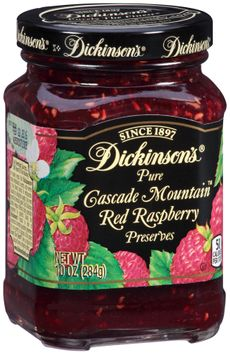 Dickinson's® Pure Cascade Mountain™ Red Raspberry Preserves