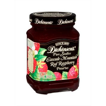 Dickinson's Cascade Mountain Pure Seedless Red Raspberry Preserves