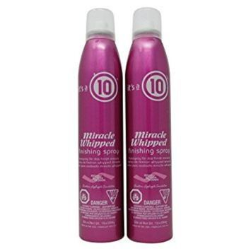 It's a 10 Haircare Miracle Whipped Finishing Spray, 10 fl. oz
